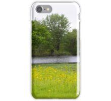 WILD MUSTARD AT THE POND iPhone Case/Skin
