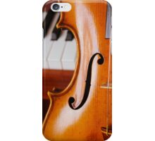 Violin and Piano iPhone Case/Skin