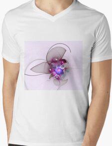 Flora Impression Mens V-Neck T-Shirt