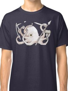 Warrior Octopus Classic T-Shirt
