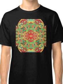 Stain Glass D Classic T-Shirt