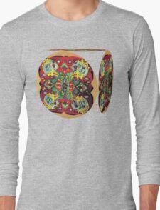 Stain Glass B Long Sleeve T-Shirt