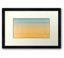 hardwood texture Framed Print