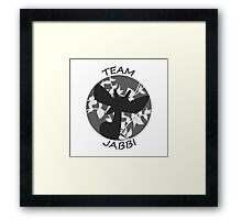 Team Jabbi Framed Print