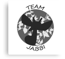 Team Jabbi Canvas Print