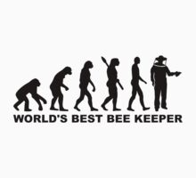 Evolution world's best beekeeper by Designzz