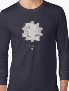 Pokemon Type - Steel Long Sleeve T-Shirt