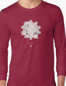 Pokemon Type - Steel Long Sleeve T-Shirt