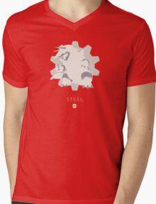 Pokemon Type - Steel Mens V-Neck T-Shirt