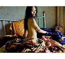 Indian Fabrics III Photographic Print