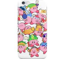 Kirbys!  iPhone Case/Skin