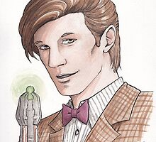 "Eleventh Doctor say ""Geronimo!"" by The-Dreamer"