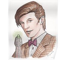 "Eleventh Doctor say ""Geronimo!"" Poster"