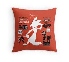 Daxter Quotes Throw Pillow
