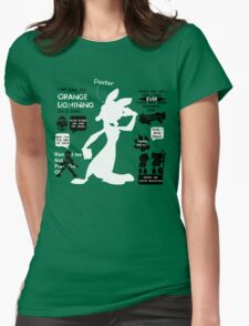 Daxter Quotes Womens Fitted T-Shirt