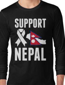 Support Nepal Long Sleeve T-Shirt