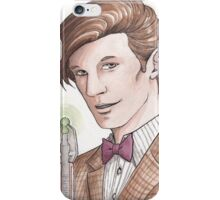 "Eleventh Doctor say ""Geronimo!"" iPhone Case/Skin"