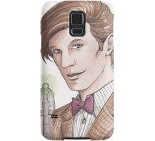 "Eleventh Doctor say ""Geronimo!"" Samsung Galaxy Case/Skin"