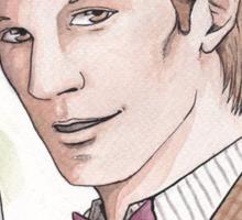 "Eleventh Doctor say ""Geronimo!"" Sticker"