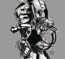 Robot -Girl by Mauricio Pommella