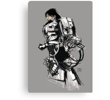 Robot -Girl Canvas Print