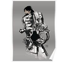 Robot -Girl Poster