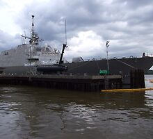USS Freedom (LCS1) by Ken Thomas Photography