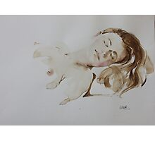 Watercolour Figure from Life Photographic Print