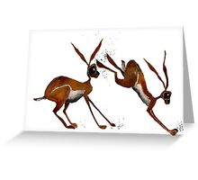 MUD IN YOUR FACE! Greeting Card