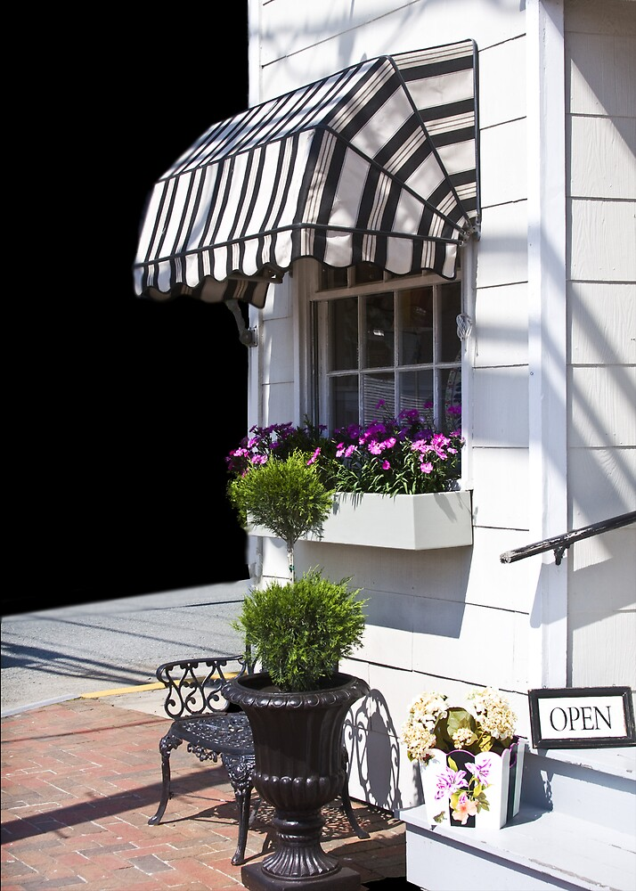 Quaint Store Front by Trudy Wilkerson