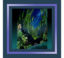 Silent Night in the Forest Scarf Photographic Print