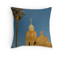 The Abbey, New Norcia Throw Pillow