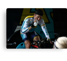 Lance Armstrong is back Canvas Print