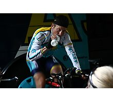 Lance Armstrong is back Photographic Print