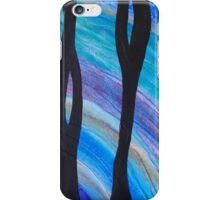 Underwater Outlook a Painting by Holly Cannell iPhone Case/Skin