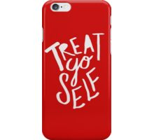 Treat Yo Self: Holiday Edition iPhone Case/Skin