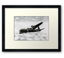 Short Stirling Framed Print