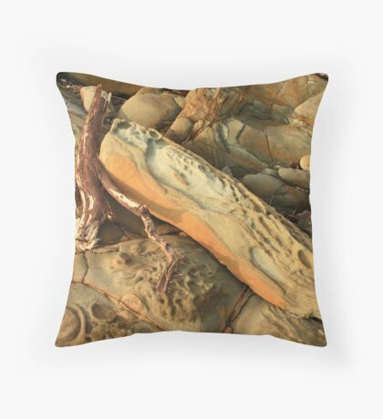 montagu sandstone  Throw Pillow