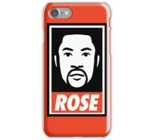 """DERRICK ROSE"" - OBEY STYLE iPhone Case/Skin"