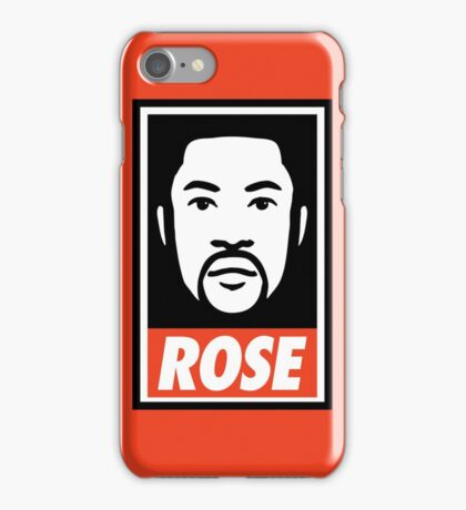 """""""DERRICK ROSE"""" - OBEY STYLE iPhone Case/Skin"""