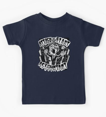 Attack of the Giant Accountant Kids Tee