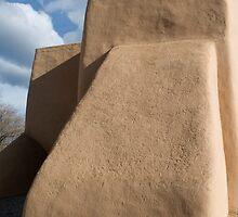 Rear Buttress, San Francisco de Asis Church, Ranchos de Taos by Mitchell Tillison
