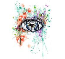 Blind Eye Photographic Print