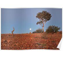 Silverton Moonrise Poster