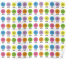 Flower pattern Poster