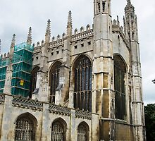 King's College Chapel by Peter Reid