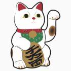 Maneki Neko (Lucky Cat) by James Raynes