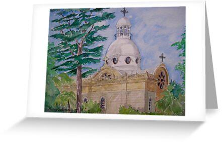 Bechara Church, Achrafieh Beirut Lebanon by nancy salamouny