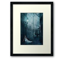 Whenever Your World Starts Crashing Down... Framed Print