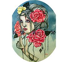 To Love The Rose Photographic Print